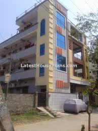 rectangle shape 3 floor building outer steps elevations latest