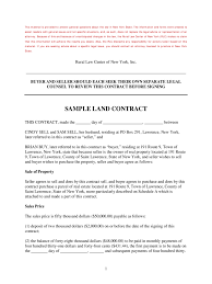 Free Nc Power Of Attorney Forms To Print land contract form 5 free templates in pdf word excel download