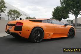 Lamborghini Murcielago V12 - murcielago savini wheels