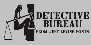 font bureau fonts detective bureau jnl webfont desktop font myfonts