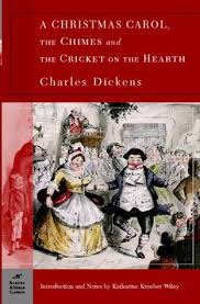 a christmas carol the chimes and the cricket on the hearth by