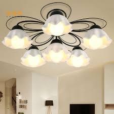 chambre fer forgé ceramique lustre lumière en fer forgé lustre chambre salon salle à