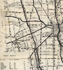Delaware Ohio Map by Ohio Delaware Scioto Ostrander History Genealogy Maps