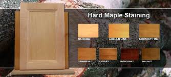 how to stain unfinished maple cabinets how to overcome staining problems on maple