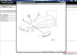 auto repair manuals jaguar epc vin 01 2017 full instruction