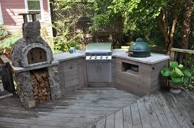 captivating brown concrete countertop outdoor kitchen stone grill full size of kitchen marvelous grey concrete countertop outdoor kitchen solid wood grill island stainless