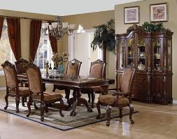 french dining room decor square white glass door home brown marble