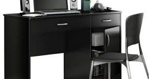 South Shore Axess Small Desk South Shore Axess Small Desk In Black Transitional Desks