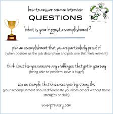 Resume Professional Accomplishments Examples by Common Interview Questions What Is Your Biggest Accomplishment