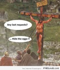 Jesus Easter Meme - 2 jesus hide the eggs cartoon pmslweb