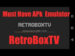 mame emulator apk must emulator retroboxtv retrox basic features and