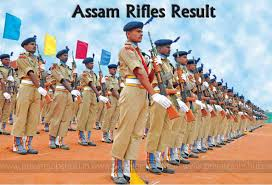 assam rifles result 2017 18 out rifleman gd revised results