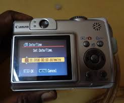 how to solve date and time problem in digital cameras 4 steps