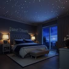 amazon com glow in the dark stars wall stickers 252 adhesive dots