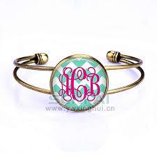 monogrammed bracelet monogram bracelet unique gift ideas and personalised gifts