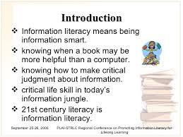 information literacy the 21st century skills