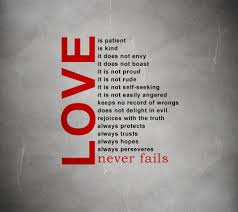 Love Is Not Selfish Quote by 1 Corinthians 13 U2013 Truth In Palmyra