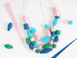 necklace beads diy images Hello wonderful diy corrugated paper bead necklaces jpg