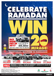 mitsubishi uae ramdan car deals and offers abu dhabi information portal