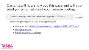 Job Wanted Resumes by How To Put Your Resume On Craigslist For Virtual Assistants