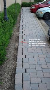 Patio Pavers Installation Choosing And Installing The Right Paver Edging Paver Restraint