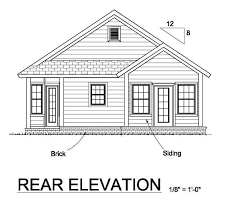 floor plans and elevations of houses house plan 61451 at familyhomeplans com