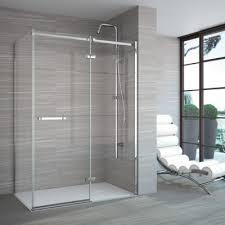Infold Shower Doors Merlyn 8 Series 1110mm Pivot Infold Shower Door With Inline Panel