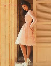 aliexpress com buy new arrival elegant pink long sleeve prom