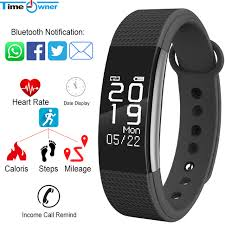 app health bracelet images Time owner f1 smart fitness bracelet app notification call alarm jpg
