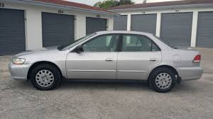 2002 silver honda accord 2002 02 honda accord dx 4 door sedan automatic clean title florida
