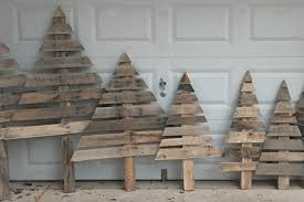 pallet christmas tree how to make christmas trees from wooden pallets simplemost