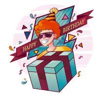birthday free vector graphic download part 4