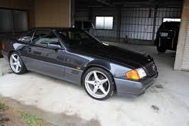 1992 mercedes benz sl500 with 19
