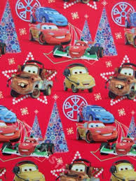 cars wrapping paper disney cars christmas wrapping paper festival collections