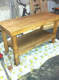 Plans For Building A Wood Workbench by Ana White Workbench To Get The Job Done Diy Projects