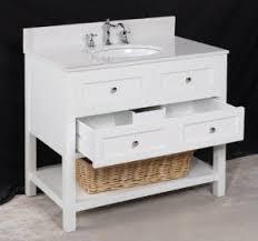 36 inch single sink white bathroom vanity sets