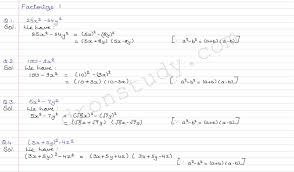 class 9 class x cbse r s aggarwal solutions polynomials ex 2 f