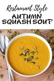 copycat panera autumn squash soup recipe fall soup