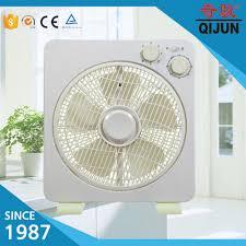 electric fan box type fashion fan home fan box type 12 with plastic fan grill