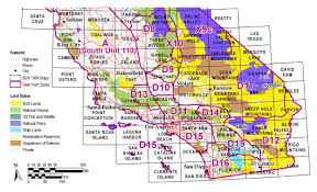 find maps buy and find california maps bureau of land management southern