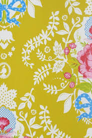 pip studio the official website shabby chic wallpaper yellow