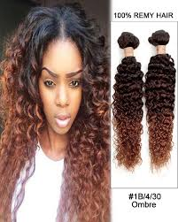 remy hair extensions 24 black auburn ombre curly remy hair weave weft