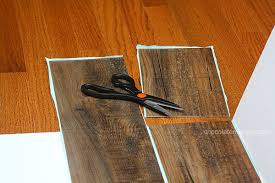 wood table top home depot diy faux wood vinyl planks lowe s home depot peel and stick