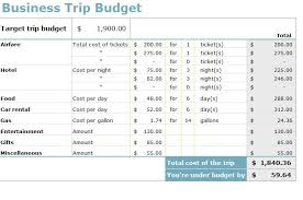 Trip Expense Tracker by Business Trip Budget Template Business Travel Budget Template