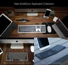 Low Profile Computer Desk by Kanex To Expand Line Of Multisync Wireless Bluetooth Keyboards At