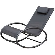 Zero Gravity Patio Lounge Chairs Patio Aluminum Zero Gravity Chair Orbital Rocking Lounge Chair