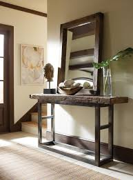 Rustic Hallway Table Amazing Rustic Console Table Decorating Ideas For Hall