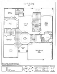100 pulte floor plan archive pulte homes floor plans az