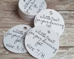 flip flop wedding favors flip flop tag shoe tag wedding favor wedding tag custom