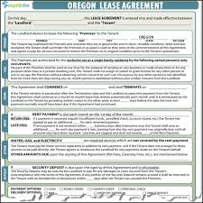 free rental lease agreement download oregon lease